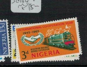 Nigeria SG 166-8 MOG (3edh)