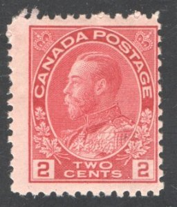 CANADA #106, F, Unused.  CV 25.00  ...   1150907