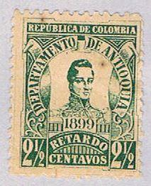 Colombia Antiquia I1 Used Cordoba 1899 (BP29613)
