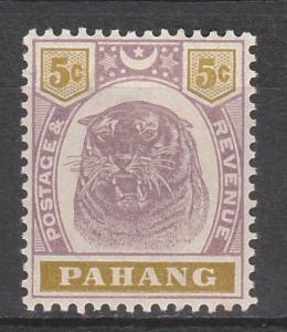 PAHANG 1895 TIGER 5C