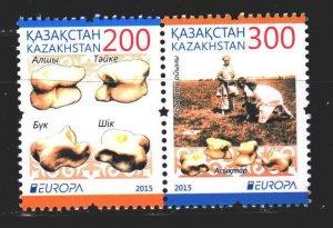 Kazakhstan. 2015. 905-6. Children's games, Europe-Sept. MNH.