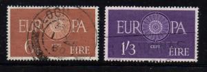 Ireland Sc 175-6 1960 Europa stamp set used