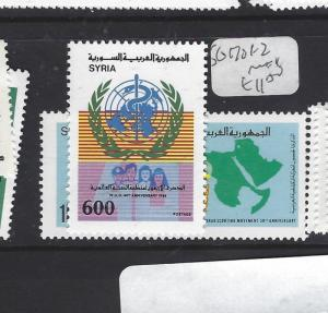 SYRIA  (P2609B)       SG 1701-2           MNH