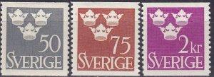 Sweden #439-41  F-VF Unused  CV $5.50 (Z5308)