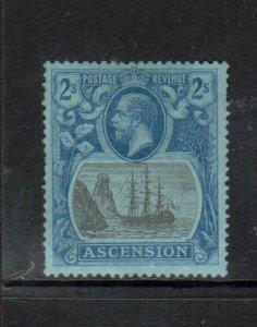 Ascension #20 (SG #19b) Very Fine Mint Original Gum Hinged - Torn Flag Variety