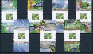 [CU129A] Curacao 2013 Ecology Gutterpairs MNH