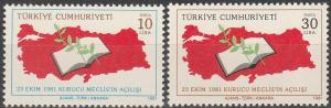 Turkey #2200-01  MNH F-VF (V885)