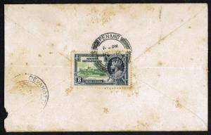 Malaya 1936 Penang, Malaya to Devakota South India