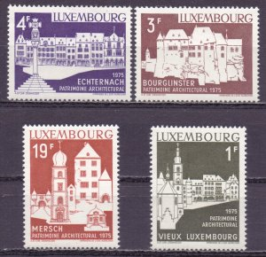Luxembourg. 1975. 900-3. Architecture. MNH.