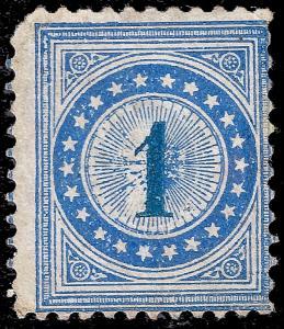 Switzerland 1878 Sc J1 Zu Porto 1 In (copy 2)