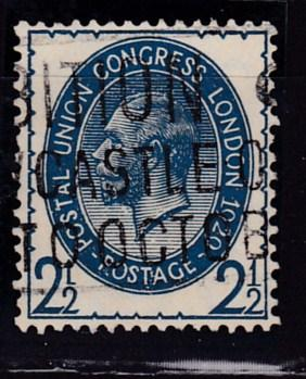 Great Britain 1929 2 1/2d KGV Union Postal Congress  FINE/VF/Used
