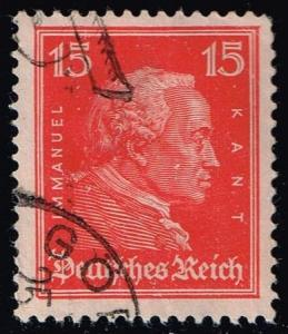 Germany #356 Immanuel Kant; Used (0.40)