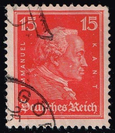 Germany #356 Immanuel Kant; Used (0.40)