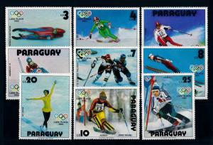 [72557] Paraguay 1979 Olympic Games Lake Placid Ice Hockey Skiing  MNH