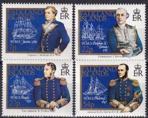 Falkland Islands #429-32  MNH CV $5.85 (Z8279)