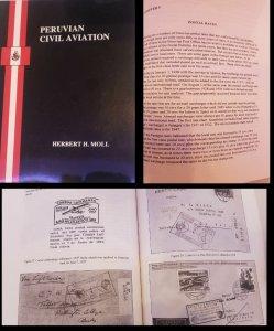 L) 2000 PERU, BOOK, PERUVIAN CIVIL AVIATION, ENGLISH VERSION BLACK AND WHITE, 86