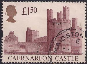 GB 1992 QE2 £1.50 Castle Definitive  used SG 1612 ( C1427 )