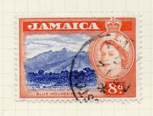 Jamaica 1956 Early Issue Fine Used 8d. 283896