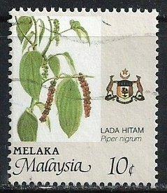 Malaysia-Malacca ~ Scott # 96 ~ Used