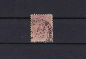 FINLAND 1875 25 PENNI  RED STAMP  CAT £60 EXPEDITION CANCEL     REF 5735