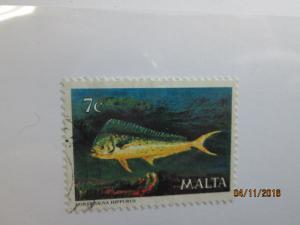 Malta #565 used