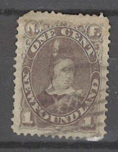 COLLECTION LOT # 3217 NEWFOUNDLAND #42 1880 CV=$11.50