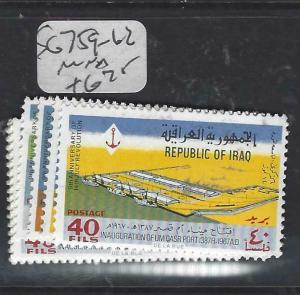 IRAQ (P2205B)   FORT  SG 759-62   MNH