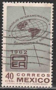 MEXICO 926, Interamerican. Economic & Soc Council USED. VF. (1022)