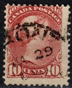 Canada #45 F-VF Used CV $65.00 (X5688)