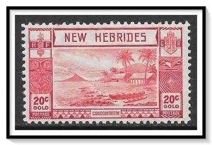 New Hebrides - British #53 Beach Scene MH