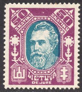 LITHUANIA SCOTT 116B