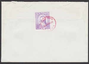 GB LUNDY 1979 cover - 10p Puffin............................................F887