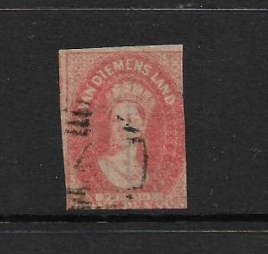 TASMANIA  1857-69  1d     QV  FU   SG 27