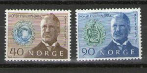 Norway 535-536 MNH