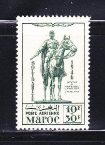 French Morocco CB25 Set MH Statue Of Marshal Lyautey