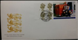 GB 2000 FDC Postman Pat Booklet HB19 SG2124bl Earls Court Childrens Favourite