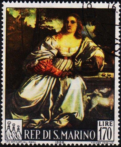 San Marino. 1966 170L S.G.803 Fine Used