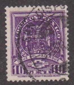 Scott # 733,  cross of Palenque