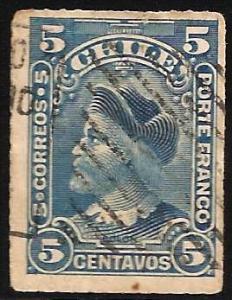Chile 1900-1901 Scott# 41 Used