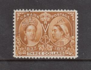 Canada #63 Extra Fine Used With Light CDS & Ideal Color **With Graded Cert.**