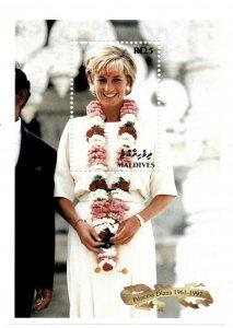 Maldives MNH S/S 2300 Princess Diana In Memoriam