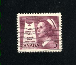 Canada  380  -2   used VF PD 1958