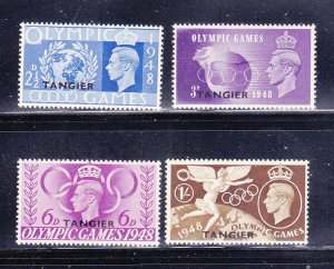Great Britain Offices In Morocco 527-530 Set MH, Tangier (B)