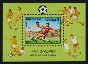 Iraq 1085 MNH World Cup Soccer, Sports
