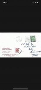 Australia 1942 1 1/2d Queen Elizabeth on cover Postmark Kew,Vic Aust 5th 1949