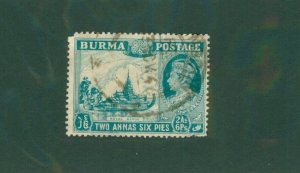 Burma 57 USED CV$ 6.75 BIN$ 3.35