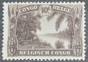 DYNAMITE Stamps: Belgium Congo Scott #139 – UNUSED