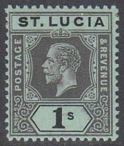 St. Lucia 70 MH CV $7.00