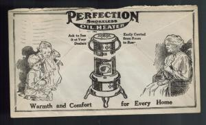 1913 Fresno CA USA Cover Standard Oil Company Advertising Window Perfection Heat