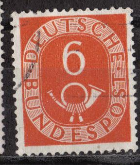 Germany - Scott # 673 - Used